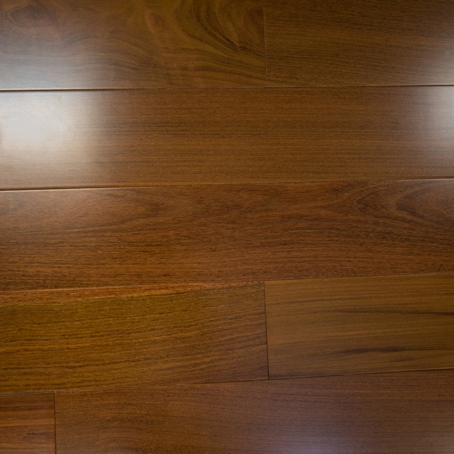 Brazilian walnut prefinished solid wood flooring 5quotx3 4 for Prefinished solid hardwood flooring