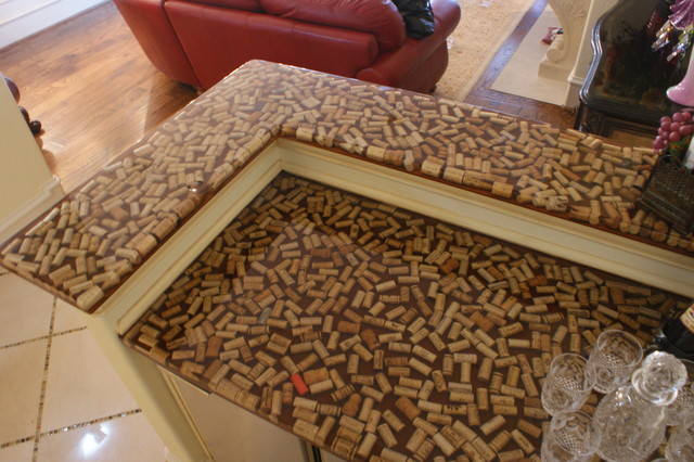 Residential Wine Cork Bar traditional