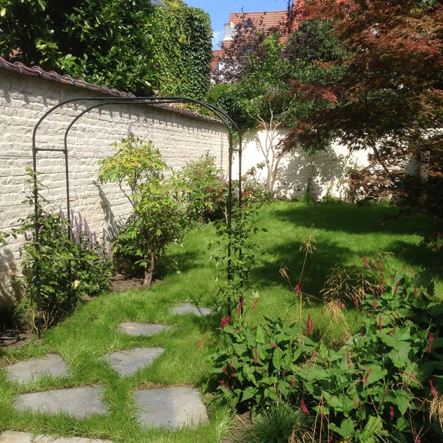 Amenagement jardin 100m2 for B b un jardin en ville brussels