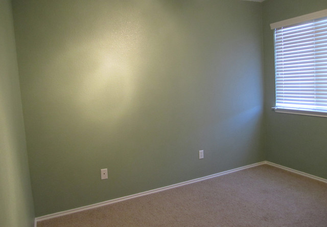 Bedroom Sherwin Williams Cascade Green Contemporary