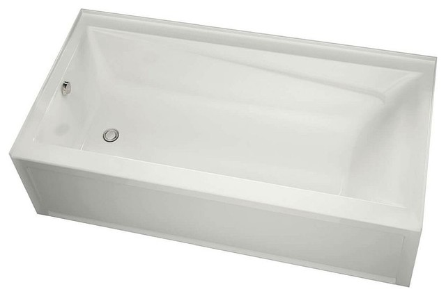 "MAAX Exhibit Acrylic 60""x30""x18"" Bathtub, Right-Hand Drain"