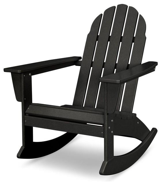 Vineyard Adirondack Rocking Chair Traditional Outdoor Rocking
