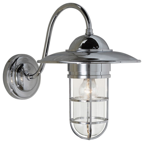 superb exterior house lights 4. E.F. Chapman Marine 1-Light Outdoor Wall Lights, Chrome Superb Exterior House Lights 4 :