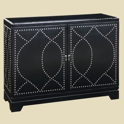 Malaga Nailhead Console Contemporary Buffets And Sideboards By Home Living Style