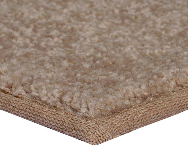 Color World Collection Way Solid Color Area Rug, Beige, 2'x4'