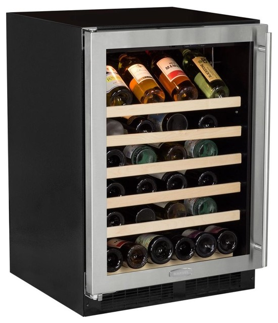 Marvel 24 Single Zone Standard Efficiency Wine Cooler W/ 6.4 Cu. Ft. Capacity.