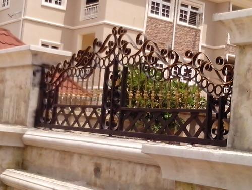 Wrought Iron Gate And Fence By Highdetails Nig Ltd Site