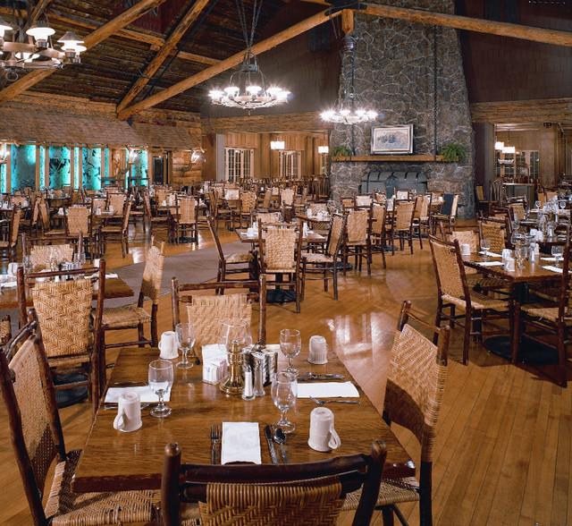 Old Faithful Inn Dining Room Endearing Old Faithful Inn Dining Room  Traditional  Indianapolis Old . 2017
