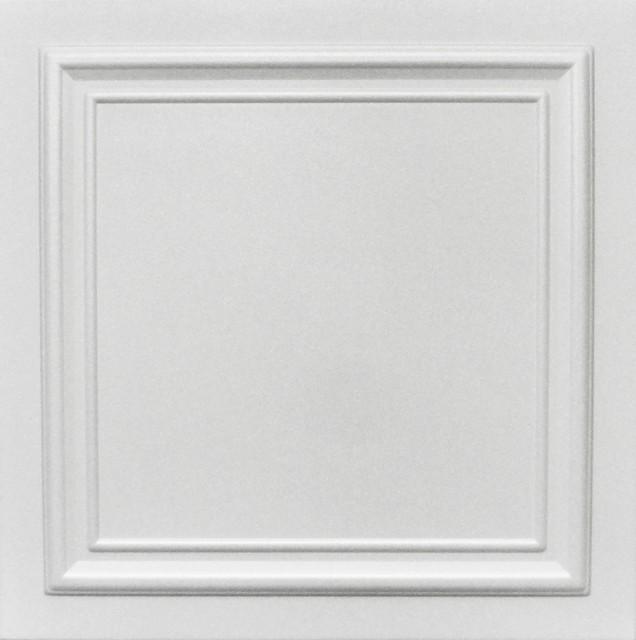 20x20 styrofoam glue up ceiling tiles r24w plain white - Glue Up Ceiling Tiles