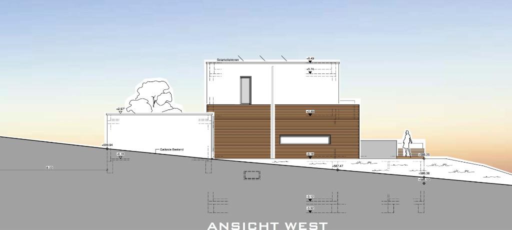 Planungsbeispiel   Wohnhaus M