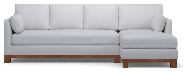 Avalon 2-Piece Sectional Sofa - Contemporary - Fabric - by Apt2B