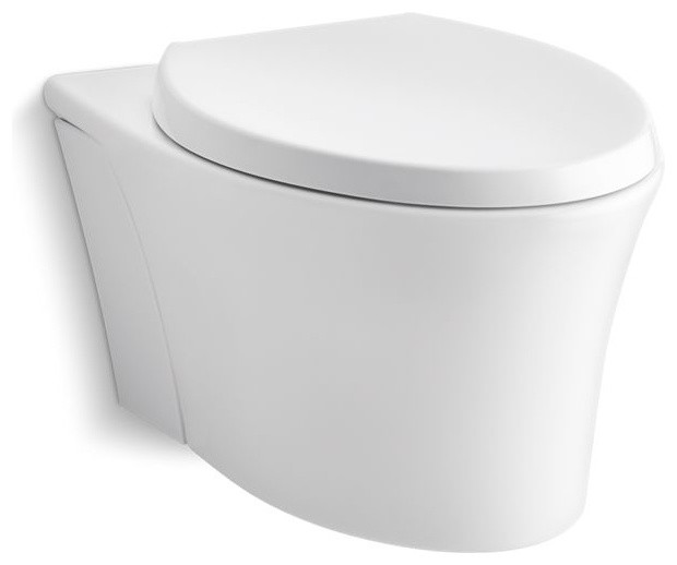 Kohler Veil 1 Piece Elongated Dual Flush Wall Hung Toilet