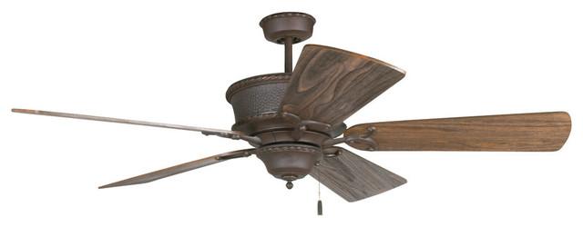 """Riata Ceiling Fan With Blades, 54"""""""
