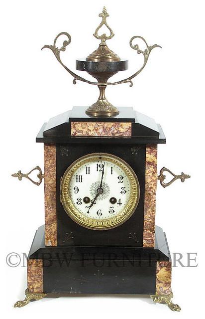 Antique chiming mantel clocks