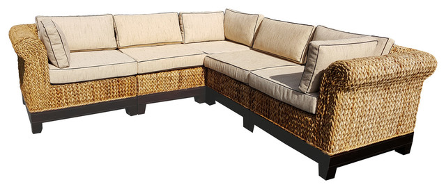 Swell Naples Sectional Sofa 5 Piece Gmtry Best Dining Table And Chair Ideas Images Gmtryco