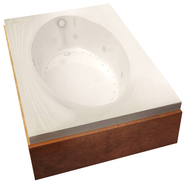 Atlantis Whirlpools Vogue 43 X 84 Rectangular Air & Whirlpool Jetted Bathtub.