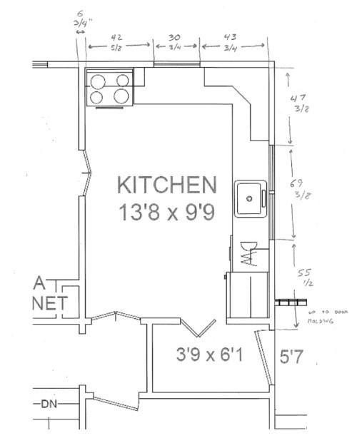 kitchen layout help please