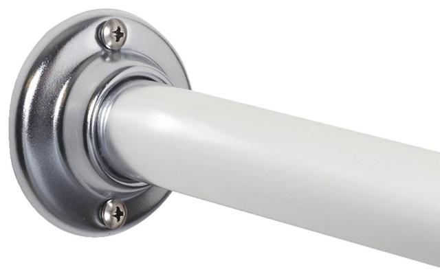 Screw In Shower Rod.Zenith Prod 60 Chrome Shower Rod Al500s