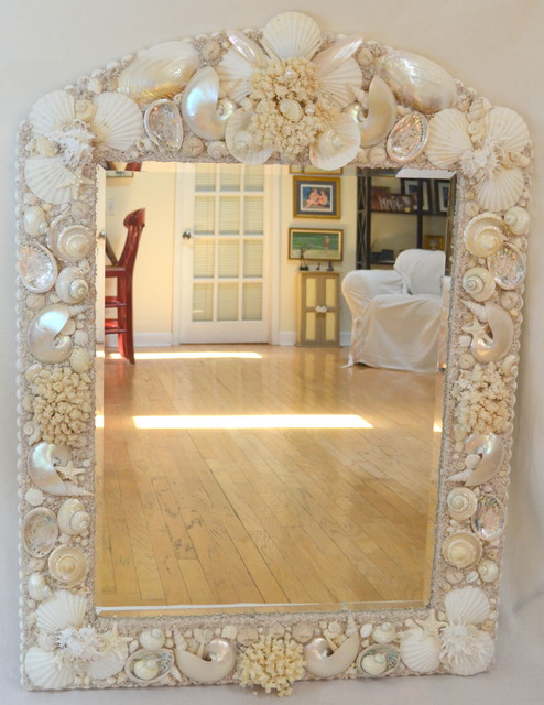 Sea Shell Mirrors Tampa By Heather Kendall Designs