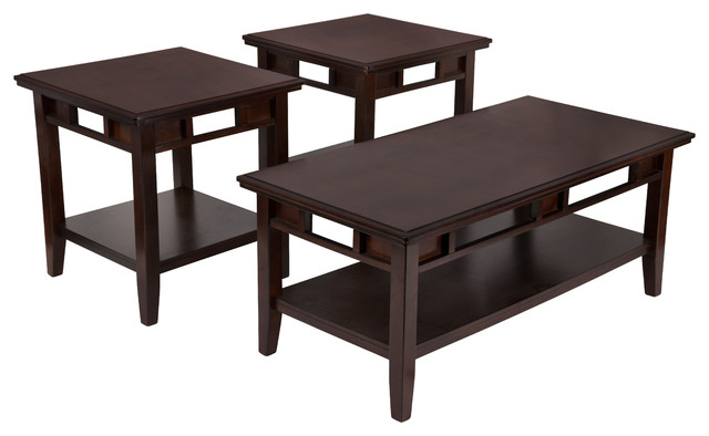 Signature Design By Ashley Logan 3-Piece Occasional Table Set.