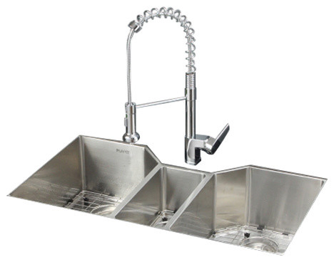 Ruvati Rvc1571 Stainless Steel Kitchen Sink And Chrome