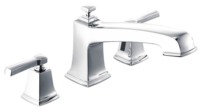 Awesome Moen Boardwalk 2 Handle Roman Tub Faucet Chrome Interior Design Ideas Inesswwsoteloinfo