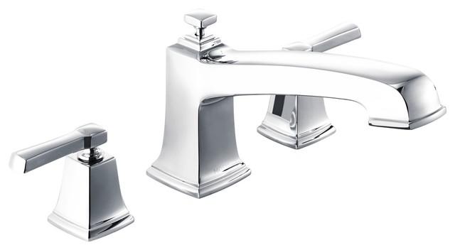 Super Moen Boardwalk 2 Handle Roman Tub Faucet Chrome Download Free Architecture Designs Momecebritishbridgeorg