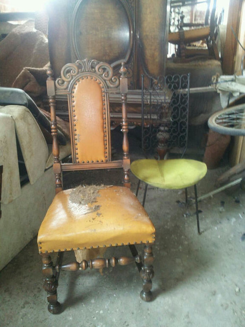 Antique Ornate Dining Chairs, How To Update?!