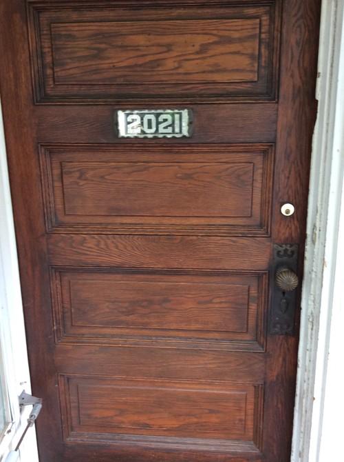 Storm Door Color For Wood Door