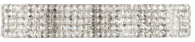 Ollie 4 Light Wall Sconce in Chrome