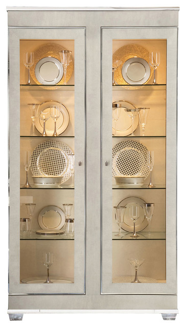 ... Front Display Cabinet - Modern - Storage Cabinets - by Kathy Kuo Home
