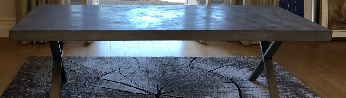 Another 3 Metre Polished Concrete Table