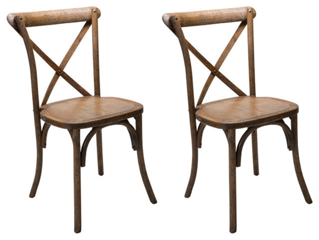 Xback Farm Dining Chair, Set Of 2
