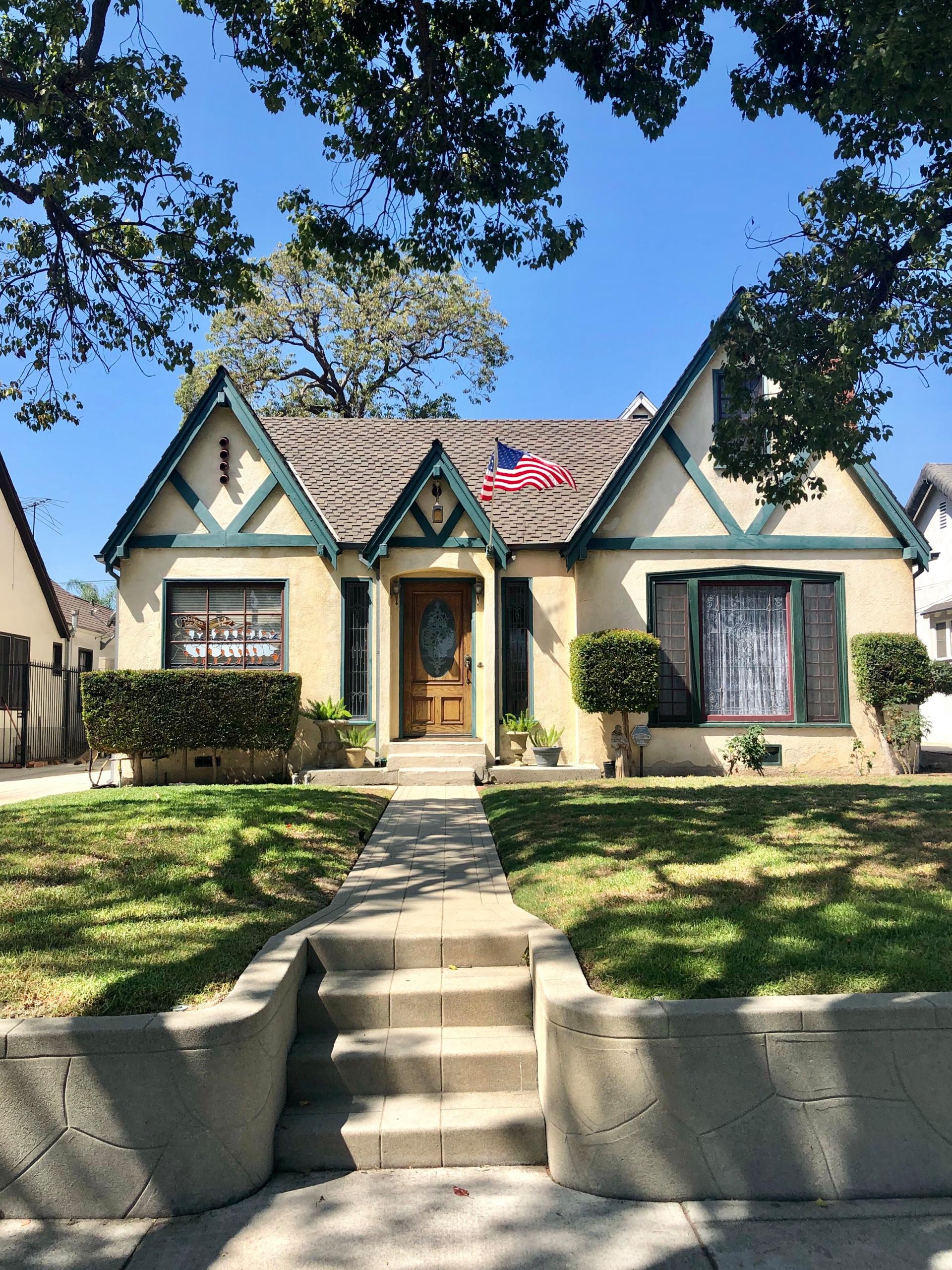 Tudor House in Wilmington, CA