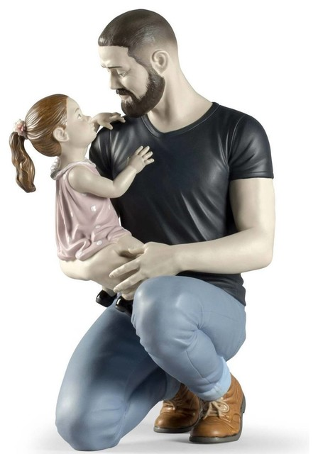 Lladro In Daddy's Arms Figurine 01009391