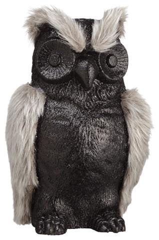 Silk Plants Direct Owl, Set Of 6.