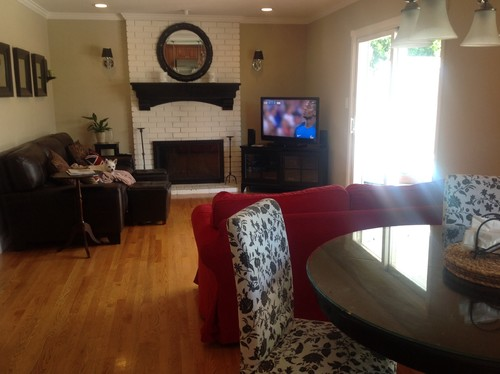 Can I Mix Dark Brown Leather Sofa With Black Loveseat?