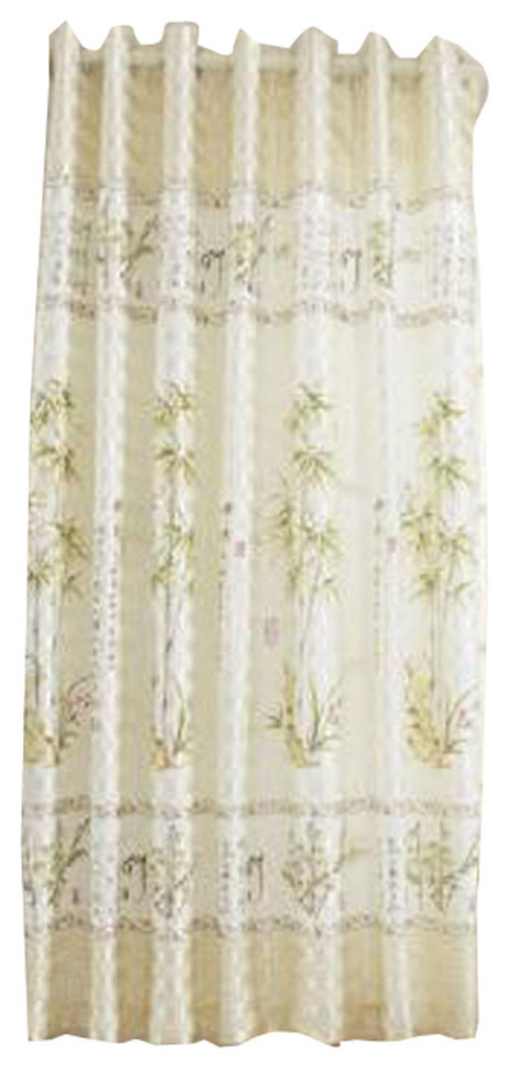 Half Curtain Small Window Blackout Curtain Bedroom Balcony Green Asian Curtains By Blancho Bedding,Light Chocolate Brown Hair Color With Caramel Highlights