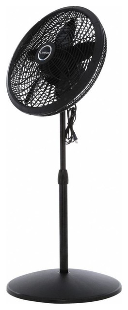 18 Adjustable Elegance And Performance Oscillating Pedestal Fan 3-Speeds.