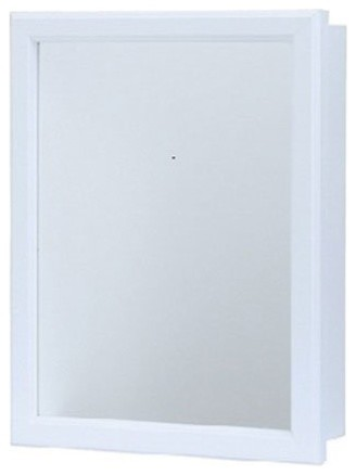 Swing Door Medicine Cabinet 16 X 20 Transitional