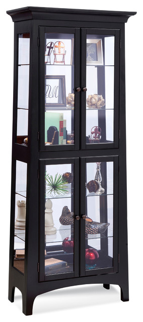 Philip Reinisch Lancaster Curio Cabinet - Transitional - China Cabinets And Hutches - by Philip ...