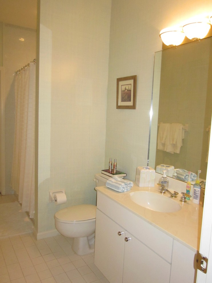 Bathroom Miracle Makeovers -Before Guest Bath