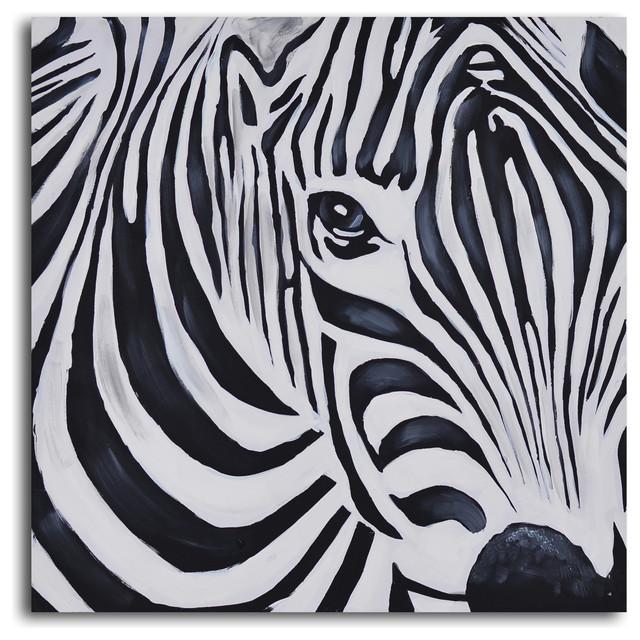 zebra psychedelia wall art - photo #14