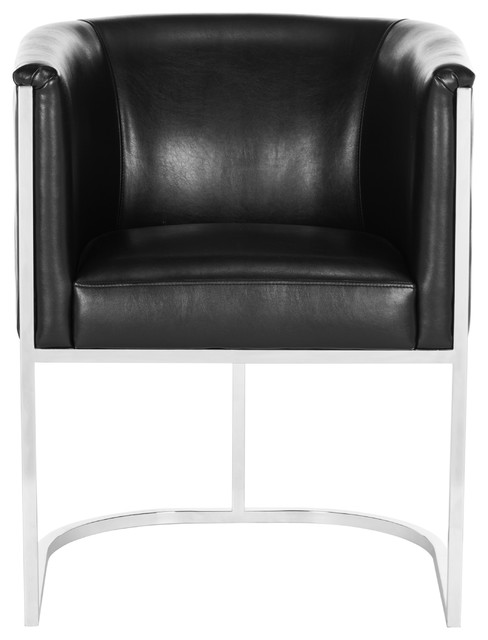 Shiloh Leather Tub Chair.