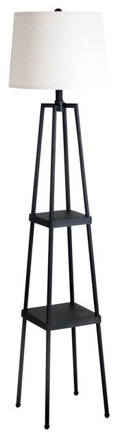 1-Light Contemporary Floor Lamp