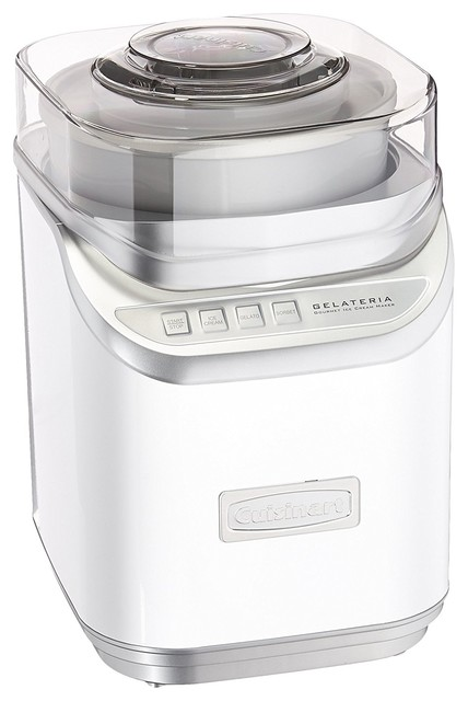 Cuisinart Ice-60w Cool Creations Ice Cream Maker, White.