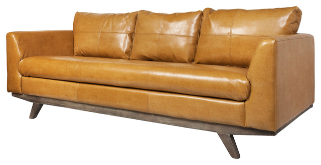 F014 3 Seater Leather Sofa by Milano and Design - Make Your ...