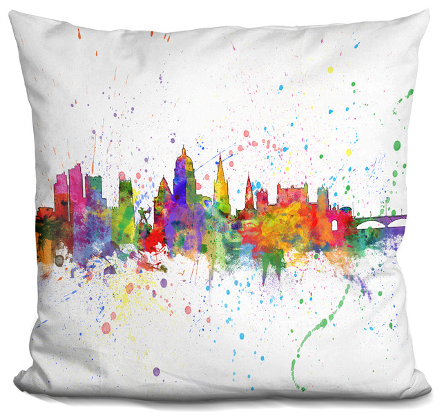 Incredible Nottingham England 2724 Decorative Accent Throw Pillow Inzonedesignstudio Interior Chair Design Inzonedesignstudiocom