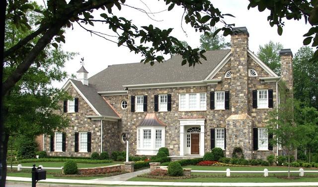 Custom Homes Traditional Exterior Atlanta By Bill