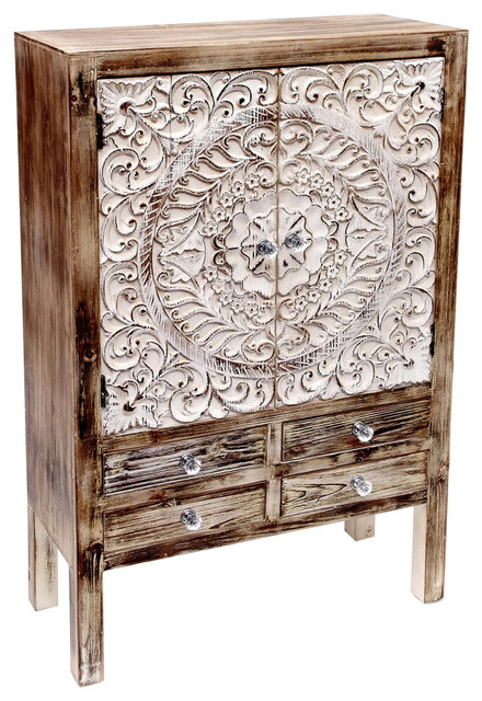 Decor Dresser With 4 Drawers.